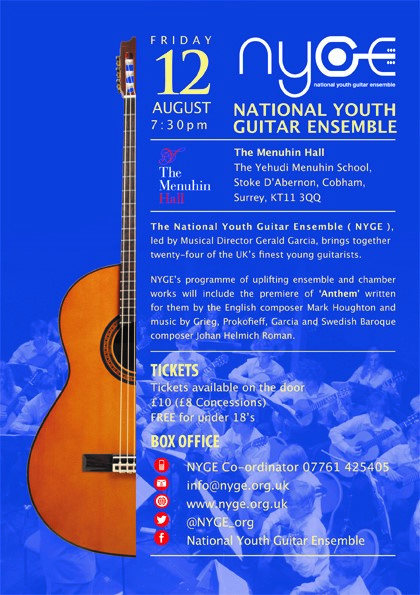 National Youth Guitar Ensemble - 12 Aug 2016
