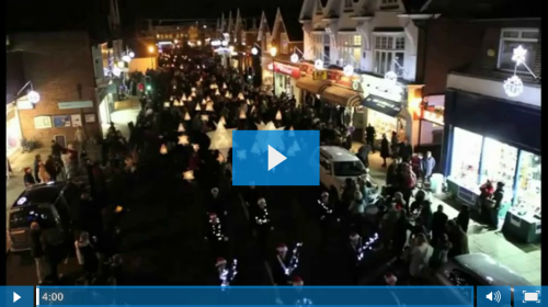 Cobham at Christmas 2012 video