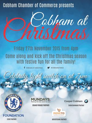 Cobham at Christmas 2015