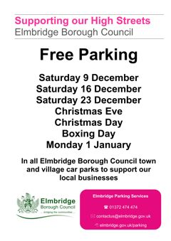 free saturday parking at christmas-w240