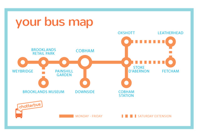Chatterbus Map