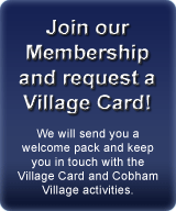 Click here to request your free Village Card