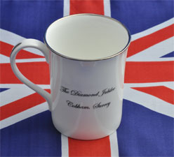 Jubilee Mug back view